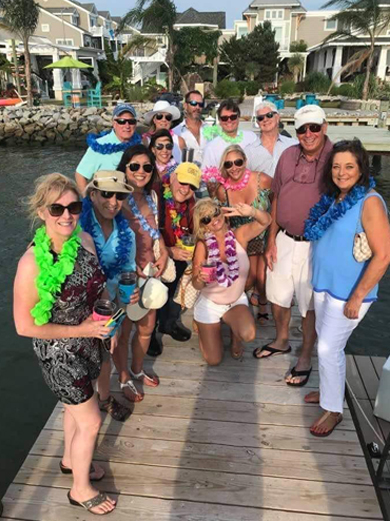 tiki bar boat Kimberly Messick